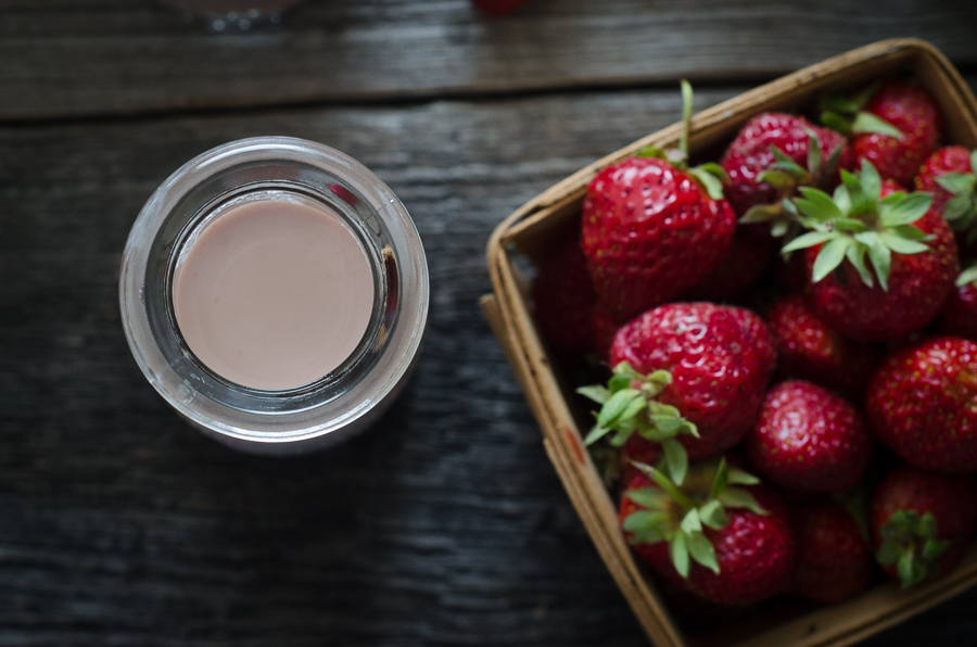 Strawberry Horchata is a naturally dairy-free, grain-free recipe using ...