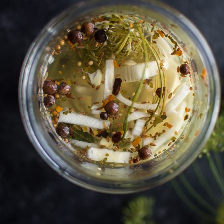cucumber fennel quick pickles (1 of 1)