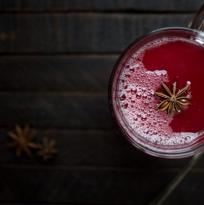 Spiced Cranberry Mors