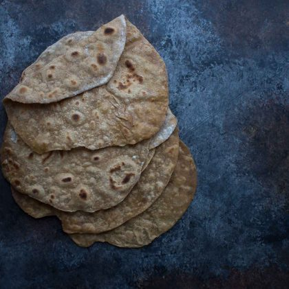 Sprouted Wheat Flatbread