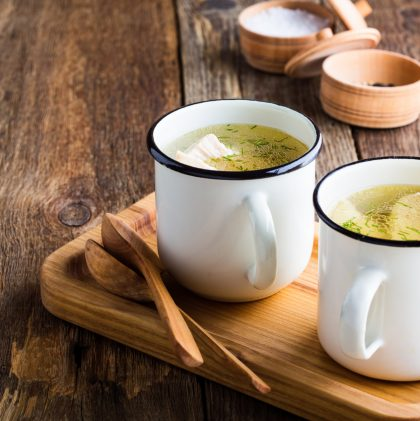 Surprise! Bone broth isn't rich in minerals, but you should eat plenty of it anyway.