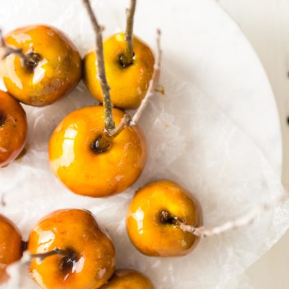 Maple Candied Apples