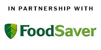 In Partnership with FoodSaver Logo